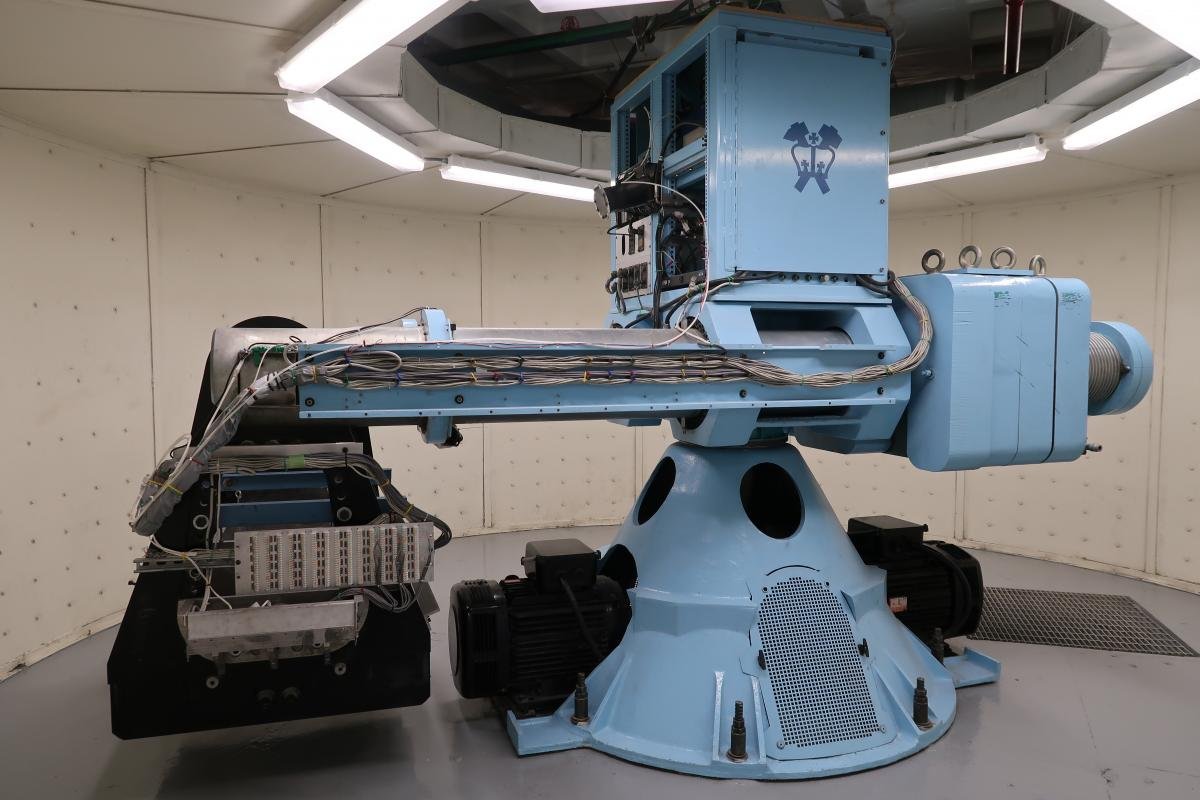 geotechnical centrifuge at Carleton Laboratory
