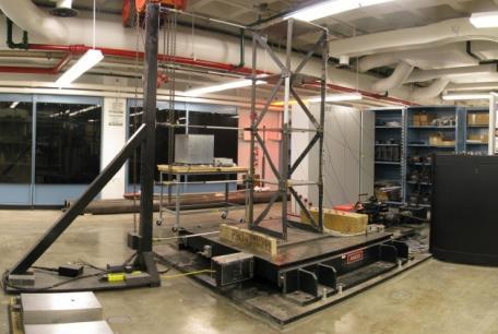ANCO/MTS Hydraulic 2 Ton Shake Table