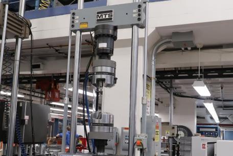 MTS 50k/1650 ft-lb Axial-Torsion Dynamic Universal Testing Machine