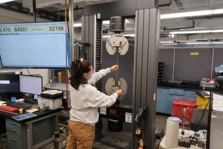 Instron 5984 34k Universal Testing Machine