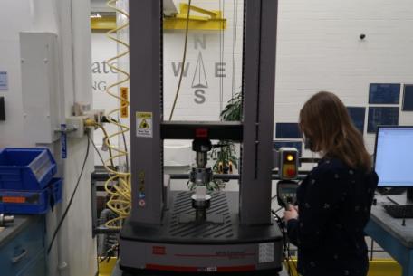 MTS 7k Electromechanical Testing Machine
