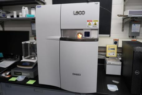 LECO DH603 Hydrogen Analyzer
