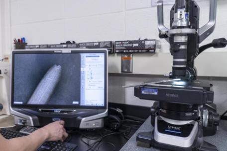 Keyence VHX-5000 Digital Microscope, PC: Barbara Alper